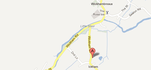 Tor Spa Retreat on the map in Ickham